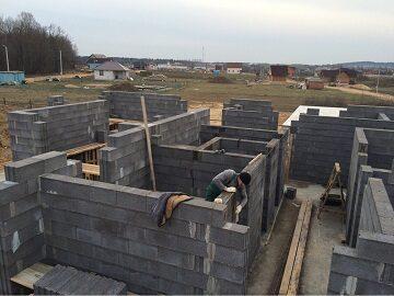 Строительство дома «ПОД КЛЮЧ» из блоков и кирпича